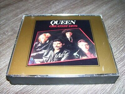 Queen - Greatest Hits I & II 1+2 * RARE 2 CD BOX Made in USA *