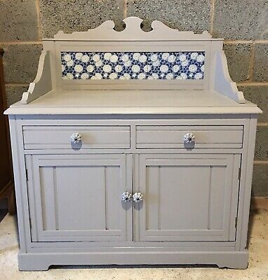 Antique Pine Painted wash stand