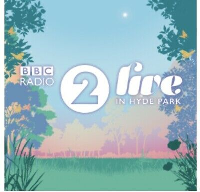 4 Tickets  Radio 2 Festival In A Day Hyde Park 15 September