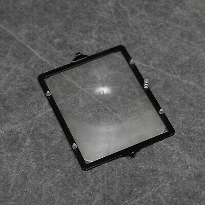 """Sinar 5""""x4"""" Fresnel Screen & Frame, In Very Good Condition"""