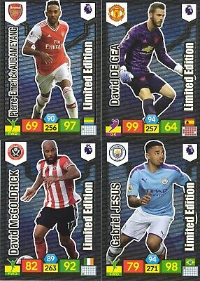 Panini Premier League Adrenalyn XL 2019/20 2019 2020 -  Limited Edition Cards