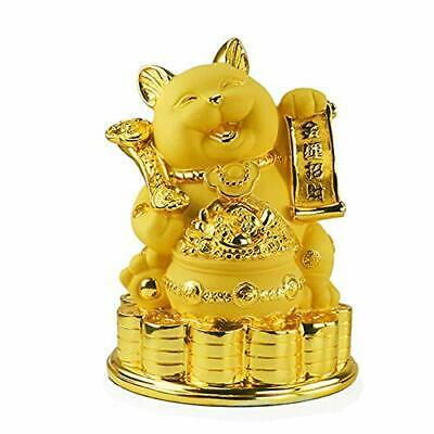 HAMILO beckoning cat piggy bank fortune feng shui items good luck ornament