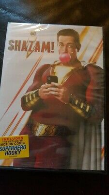 Shazam - DVD new free post bargain