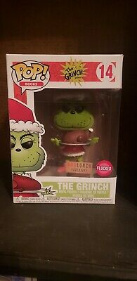 Funko Pop The Grinch w/ roast beast #14 flocked boxed lunch exclusive