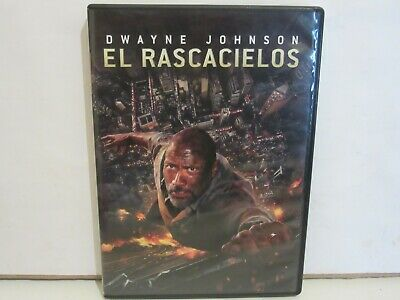 El Rascacielos (Skyscraper) - Dwayne Johnson - DVD - 2018 - SPAIN - EX+/EX+