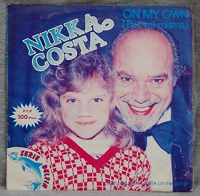Nikka Costa - On My Own - Vinilo Single