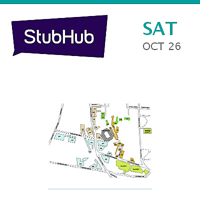 PARKING PASSES ONLY Auburn Tigers at LSU Tigers Football Tickets - Baton Rouge