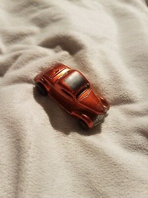 Vintage 1969 Hot Wheels Redline Classic '36 Ford Coupe Orange Car