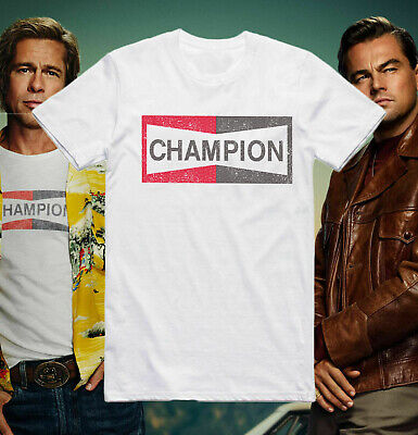 Once Upon A Time In Hollywood Champion Mens T-Shirt Top Unisex  Tee