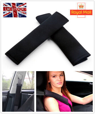 2PCS Car Seat Belt Pads Harness Safety Shoulder Strap BackPack Cushion Covers UK