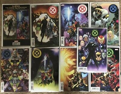 House of X- 1,2.3,4 Powers of X 1, 2 3 4  cover A - Set Hickman X-Men Marvel NM+