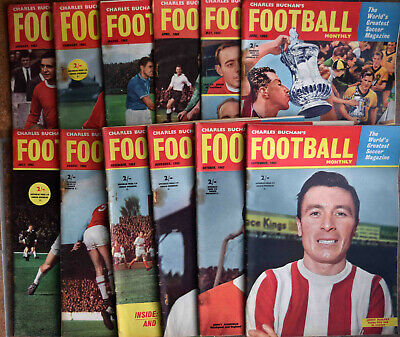 Charles Buchan's Football Monthly Magazine complete 1963 editions