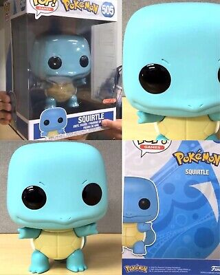 "Funko Pop Pokemon 10"" Squirtle Target Exclusive Preorder 10 Inch"