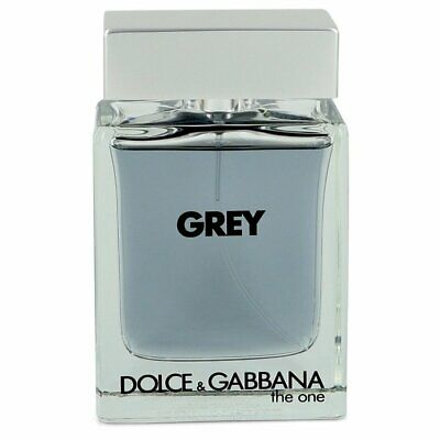 The One Grey by Dolce & Gabbana 3.3 oz EDT Intense Spray TESTER for Men