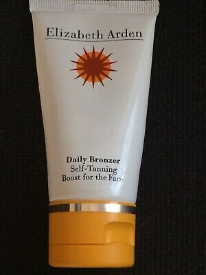 Elizabeth Arden Daily bronzer self tanning boost for the face 50ml NEW