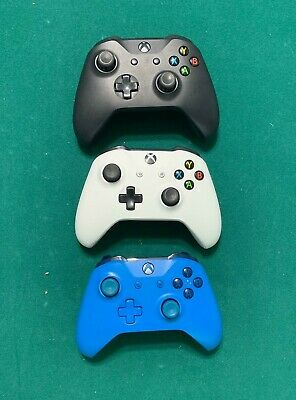 Microsoft Xbox One X S Wireless Controller Fast Shipping Black/Blue/White