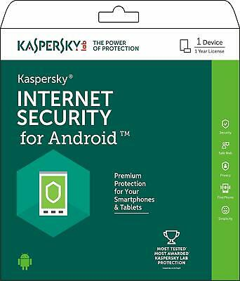 Antivírus ANDROID Kaspersky total security 2019 1 USER , 1 YEAR, 365 days