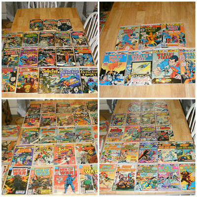 Comic Book LOT of (50) Marvel, DC, and INDIES- Modern To Vintage Lot - grab bag