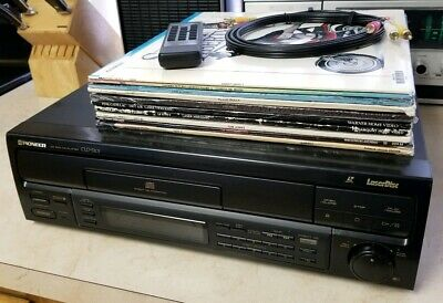 Pioneer CLD-S201 Laserdisc Player +10 Movies w/Remote FREE SHIPPING