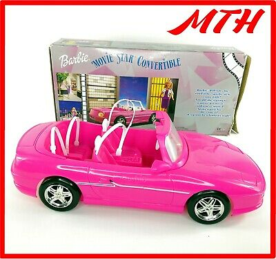 Barbie Movie Star Convertable Car 2000 Pink Complete Boxed - VGC