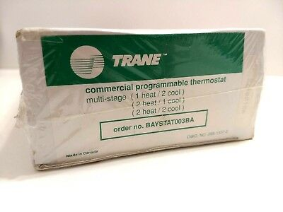 Trane Commercial Programmable Thermostat Baystat003Ba Multi Stage
