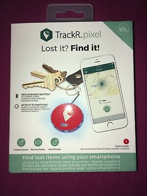 TrackR Pixel Bluetooth Tracker Dogs cats Keys Bags Bikes Luggage iphone app