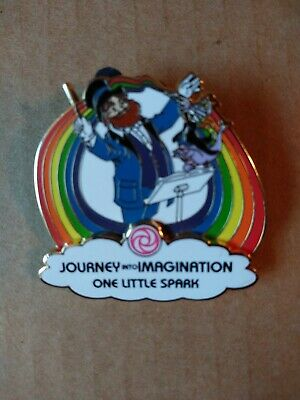 Disney Epcot 30th Reveal Conceal Mystery Pin Journey into Imagination Figment