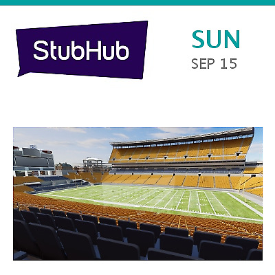 Seattle Seahawks at Pittsburgh Steelers Tickets - Pittsburgh