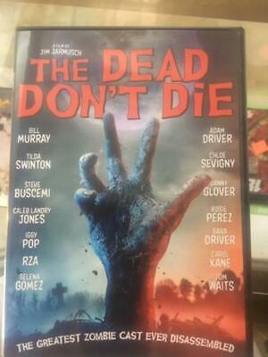 The Dead Don't Die (Dvd, 2019)***Region 1 Never Been Played****Free Shipping****