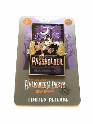 Disney's 2019 MNSSHP Mickey's Not So Scary Halloween Party Annual Passholder Pin