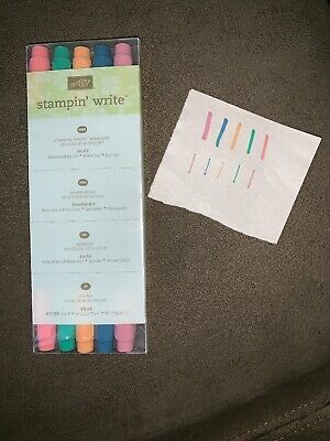 Stampin Up RETIRED, 2016-2108 In Color Write Markers