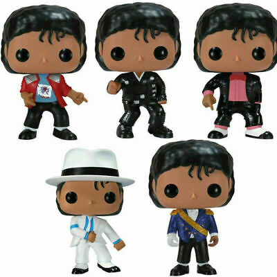 FUNKO POP MICHAEL JACKSON BEAT IT BILLIE JEAN BAD Action Figures New With Box