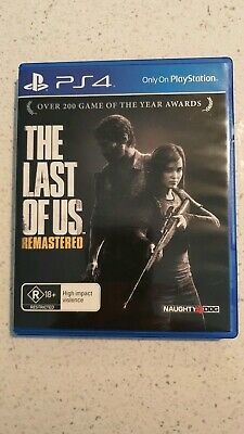 The Last of Us Remastered - PS4 - Sony PlayStation 4