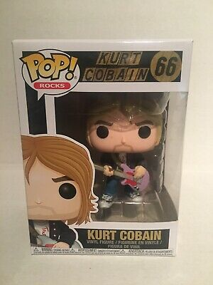 Funko Pop Rocks Kurt Kobain Hot Topic Exclusive (Missing Sticker)