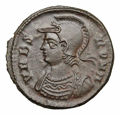 Anonymous City Commemorative. AD 330-354. Æ Follis, VRBS ROMA