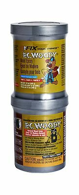PC Products PC-Woody Wood Repair Epoxy Paste, Two-Part 12oz in Two Cans, Tan ...
