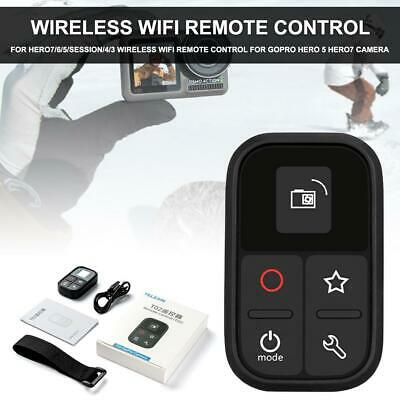 For GoPro WiFi Remote Control for Hero 7/6/5/4/3+/3/Session + Charging Cable