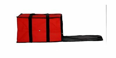 """Nylon Insulated Pizza / Food Delivery Bag 20"""" X 20"""" X 12"""" for Five 16"""" Pizza ..."""