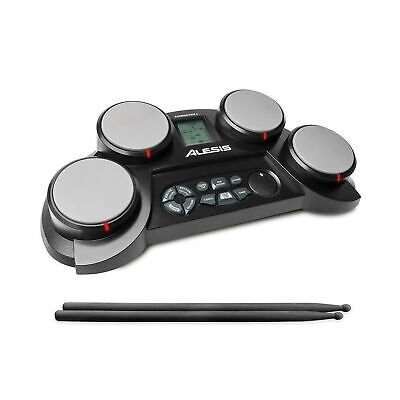 Alesis Compact Kit 4 | Portable 4-Pad Tabletop Electronic Drum Kit with Veloc...
