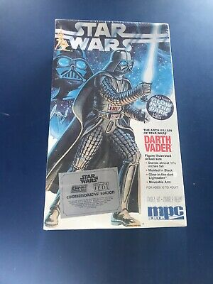 Star Wars Darth Vader Model Kit by MPC - still sealed and hard to find