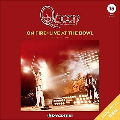Queen LP Record Collection On Fire Live At The Bowl Deagostini Japan Freddie OOP