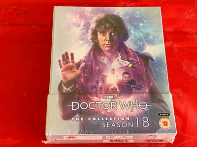 DOCTOR WHO Season 18 Blu Ray 8 Disc Limited Edition NEW! SEALED!