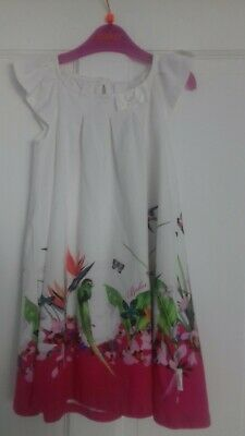 Bnwt Genuine Ted Baker Girls Dress, 2 Piece Set Age 4-5 Yrs
