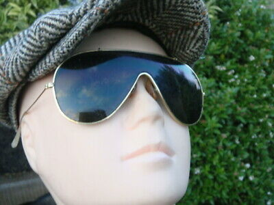 Ray Ban Bans vintage Wings AVIATOR Bausch & Lomb sunglasses 1970s U.S.A. made