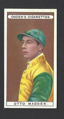 Ogdens - Owners, Racing Colours & Jockeys (Blue) - #30 Otto Madden
