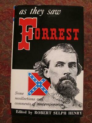As They Saw Nathan Bedford Forrest - Brand New - Dust Jacket In Brodart Cover