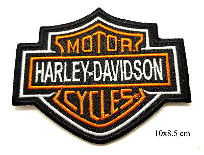 Harley Davidson Patch Iron Or Sew On