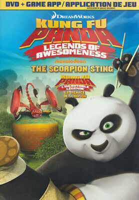 Kung Fu Panda: Legends Of Awesomeness - The Scorpion Sting (Dvd + Game) (B (Dvd)