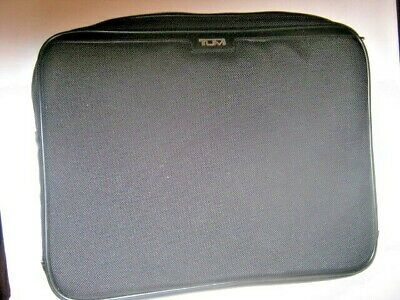 "Tumi Lap Top Or Tablet Case Ballistic Nylon With Leather Trim  14""X11"""