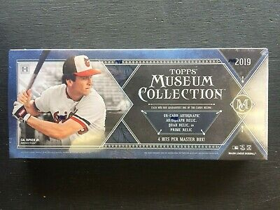 2019 Topps Museum Collection Baseball Factory Sealed Hobby Box